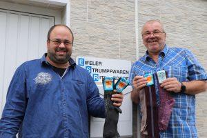 Read more about the article Eifelstrumpf Qualität aus feinstem Garn